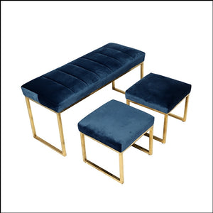 Doha Dining bench and stools set