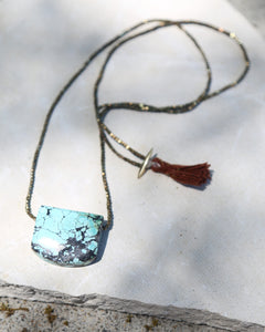 Tibetan Turquoise Apollo Necklace