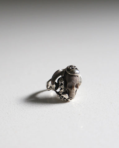 Carved Skull Ring