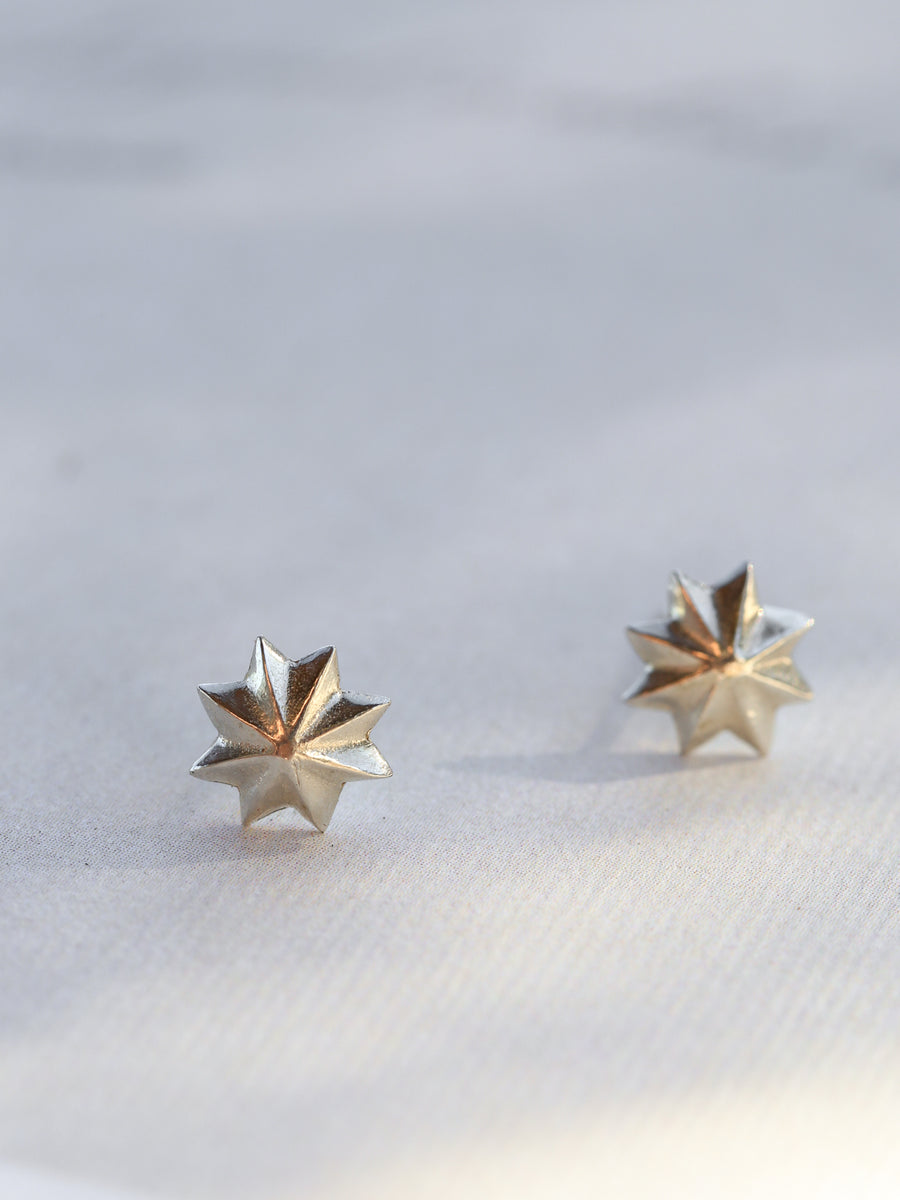 Silver Sol Studs