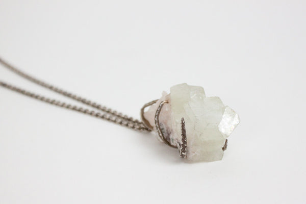 Stingray Claw Zeolite Necklace