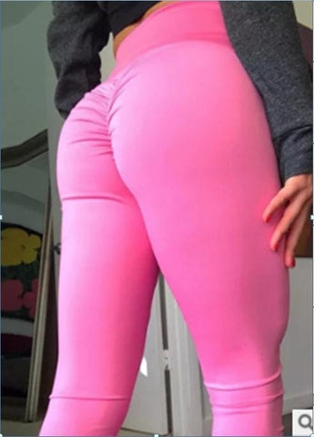 High Waist Scrunch Butt Lift Fitness Yoga Workout Leggings