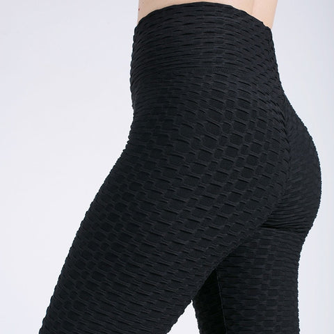 High Waist Anti-Cellulite Scrunch Back Gym Yoga Fitness Activewear leggings