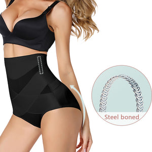 Miracle Slimming Enhancer Waist Trainer Body Shaper Tummy Control Shapewear Panties + Butt Lifter