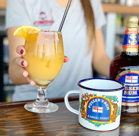 Cheers! Why a Pusser's Painkiller is Perfect for Celebrating Black Tot Day
