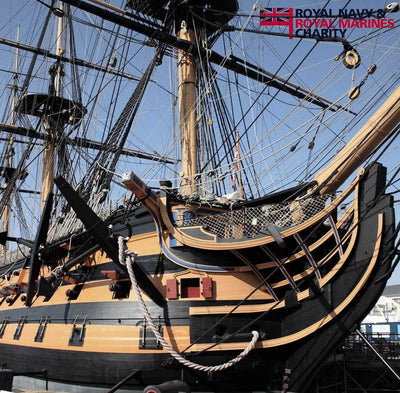 Black Tot Day Live Toast: RNRMC on HMS Victory