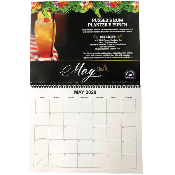Pusser's Rum Calendar 50th Anniversary Limited Edition (2020)
