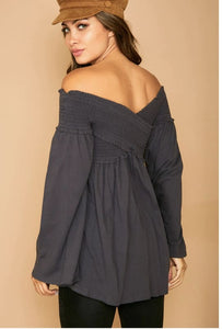 Aidia Off Shoulder Top - Top