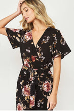Load image into Gallery viewer, Bridget Floral Print Jumpsuit - Jumpsuit/Romper