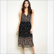 Load image into Gallery viewer, Floral Midi Dress - Dress