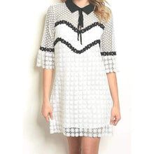 Load image into Gallery viewer, Southern Charm Crochet Dress - Dress