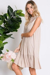 The Festival Boho Ruffle Dress - Dress