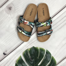 Load image into Gallery viewer, Tropical Vibe Floral Sandals - Shoes
