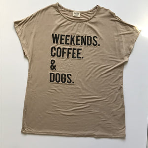 Weekend Graphic Tee - Top