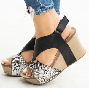 Wild n Out Wedge Sandal - Shoes