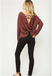Zanetta Criss-Cross Twist Top - Top
