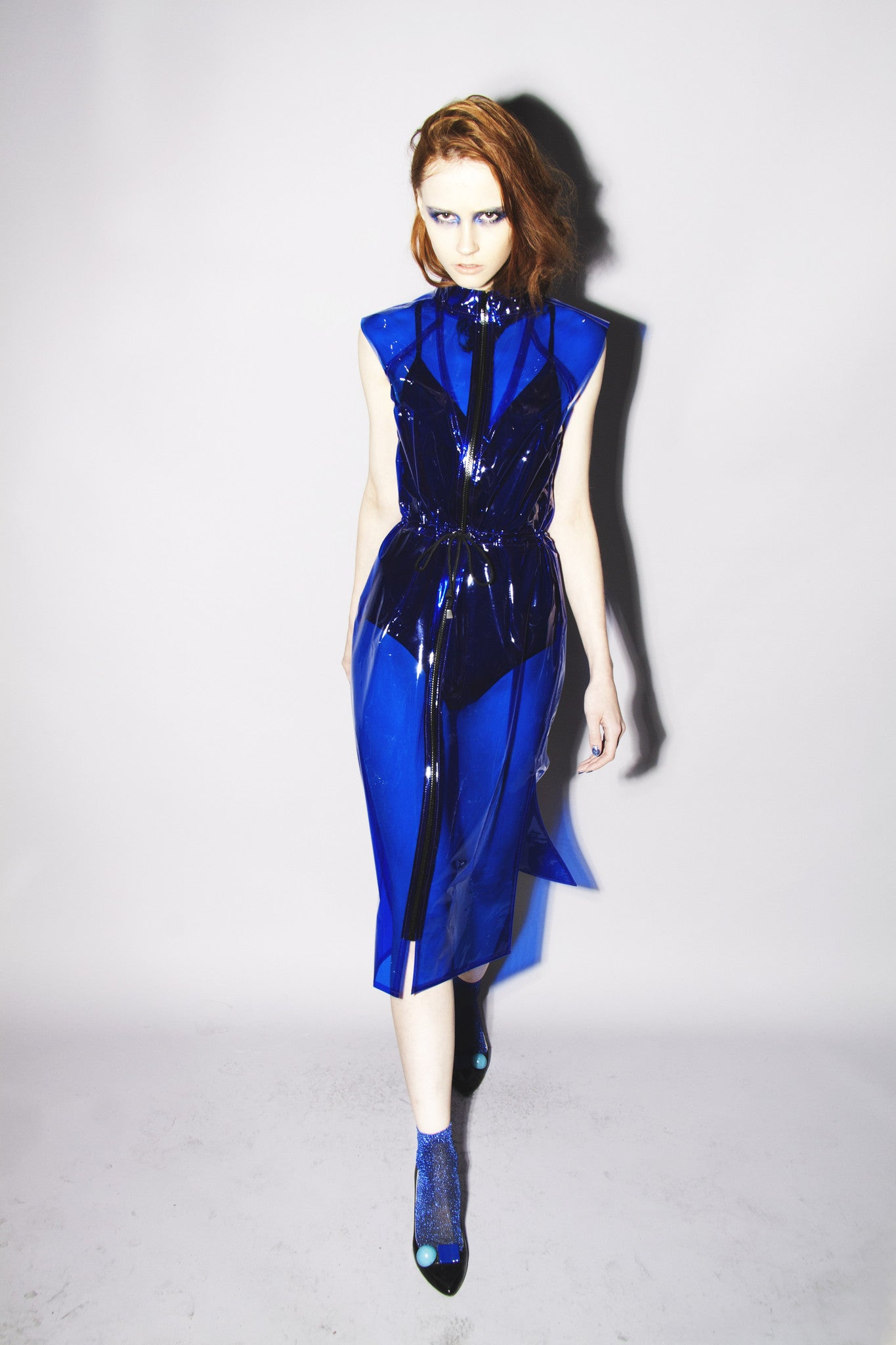Blue T Girl Disco Dress