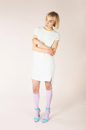 Inari Tee Dress & Crop Tee Sewing Pattern by Named Clothing