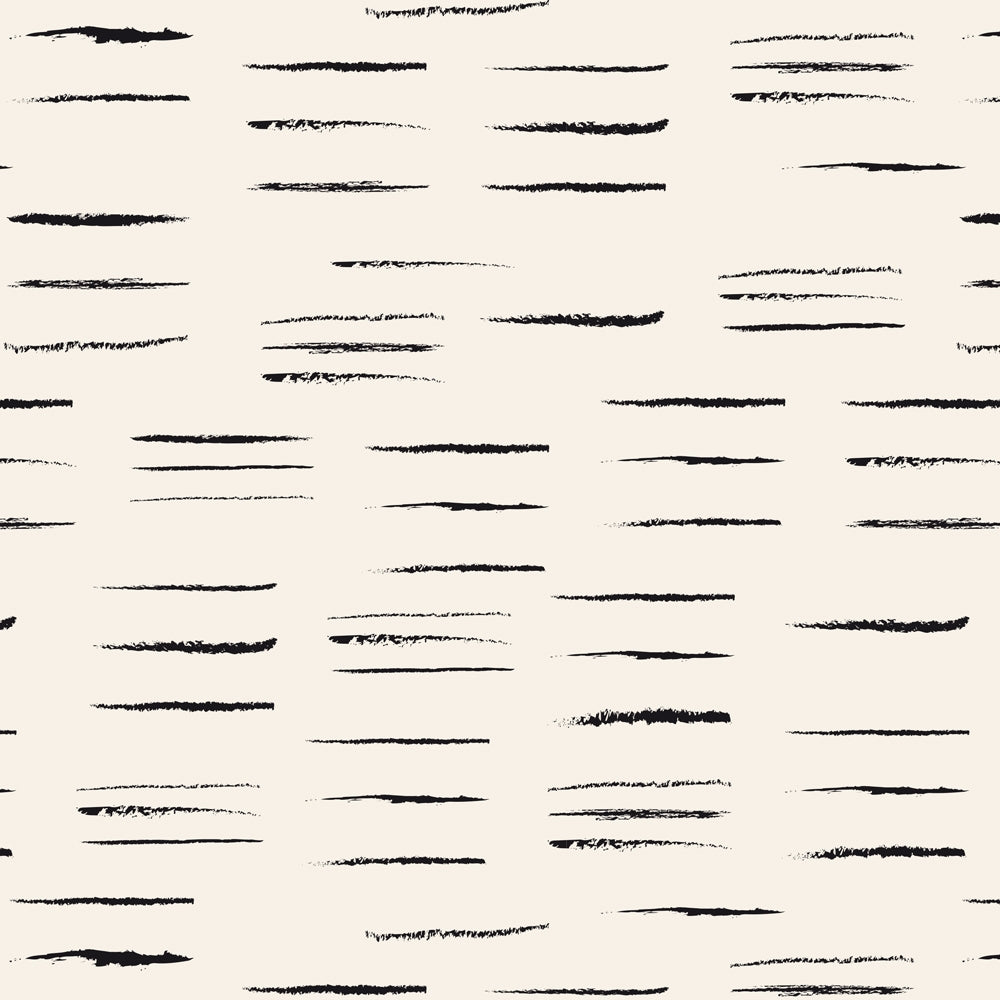 Chalk Off-White Cotton Fabric - Atelier Brunette - 0.5 metre