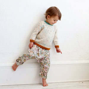 Baby + Toddler Harem Pants Sewing Pattern by Wiksten