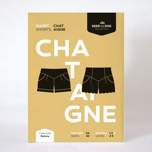 Chataigne Shorts by Deer & Doe Patterns