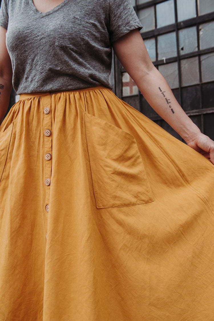 Estuary Skirt Pattern by Sew Liberated