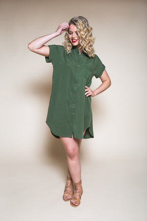 Kalle Shirt & Shirtdress Pattern by Closet Case