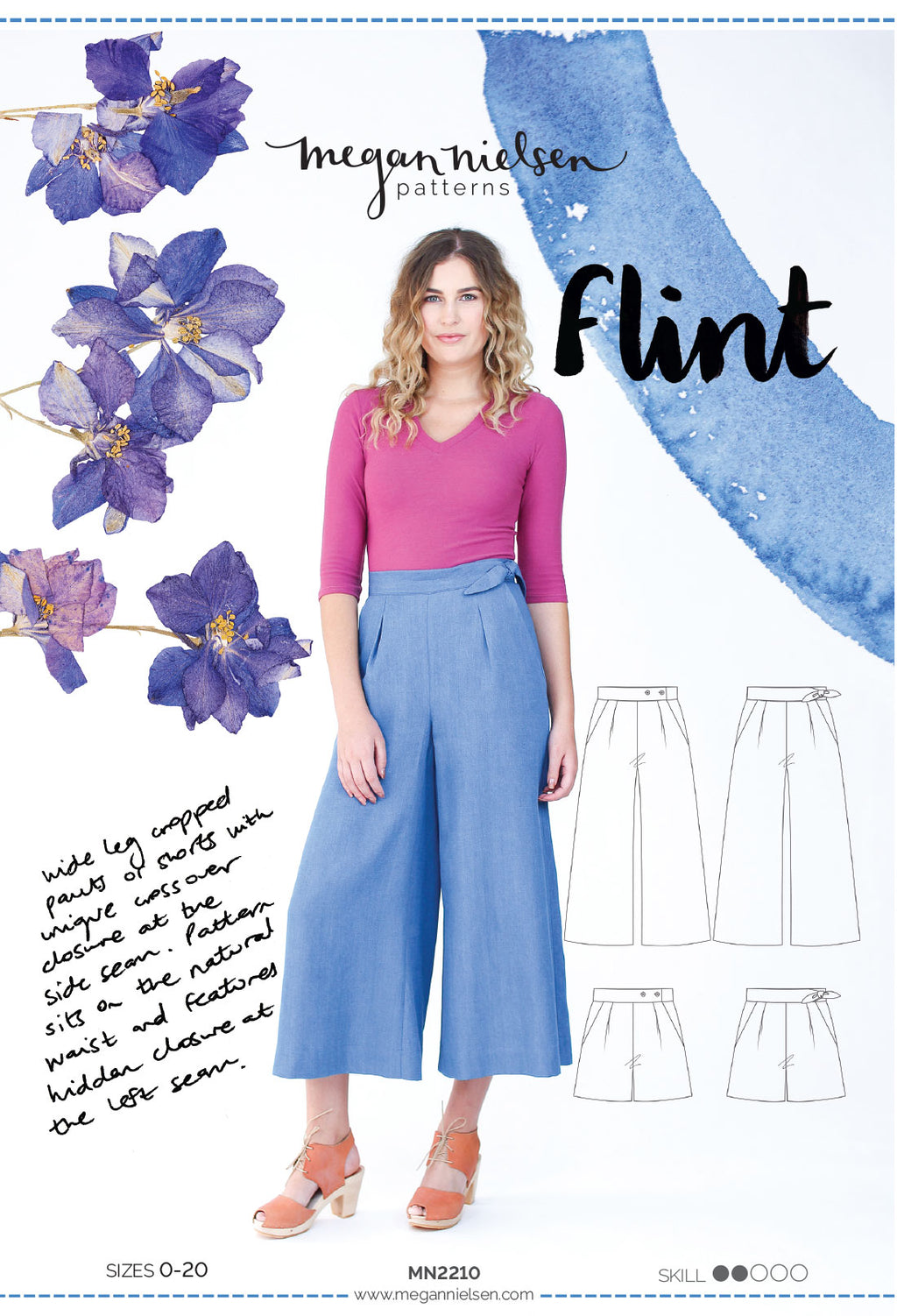 Flint Pants & Shorts by Megan Nielsen Patterns