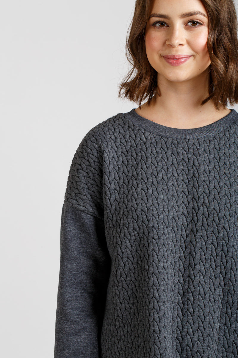 Jarrah Sweater by Megan Nielsen Patterns