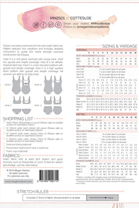 Cottesloe Swimsuit by Megan Nielsen Patterns