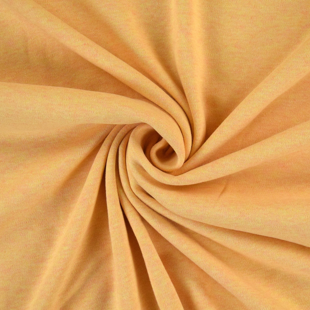 Organic Cotton Interlock - Yellow