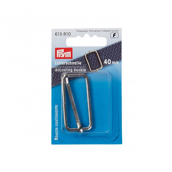Prym Adjusting Buckle - Silver - 40mm