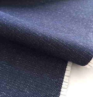 Night Reflective Denim Fabric by the metre
