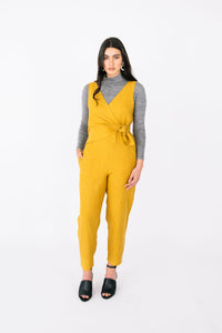 Fabric Romance presents the Sierra Jumpsuit Pattern by Papercut Patterns