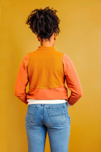 The Arlo Track Jacket Sewing Pattern by Friday Pattern Co.
