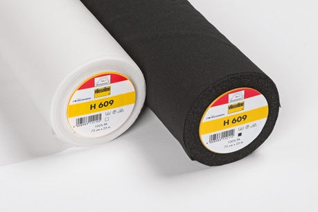 Vilene/Vlieseline - H609 Fusible Interfacing for Knit/stretch fabrics - 1 metre