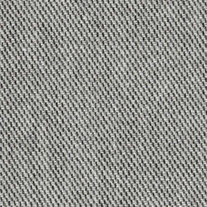 Soft-touch wool Fil à Fil in Twill by Zuleeg GmbH in Ecru/Black. This is a luxurious new wool/angora/yak blend; A sporty yet elegant fabric.