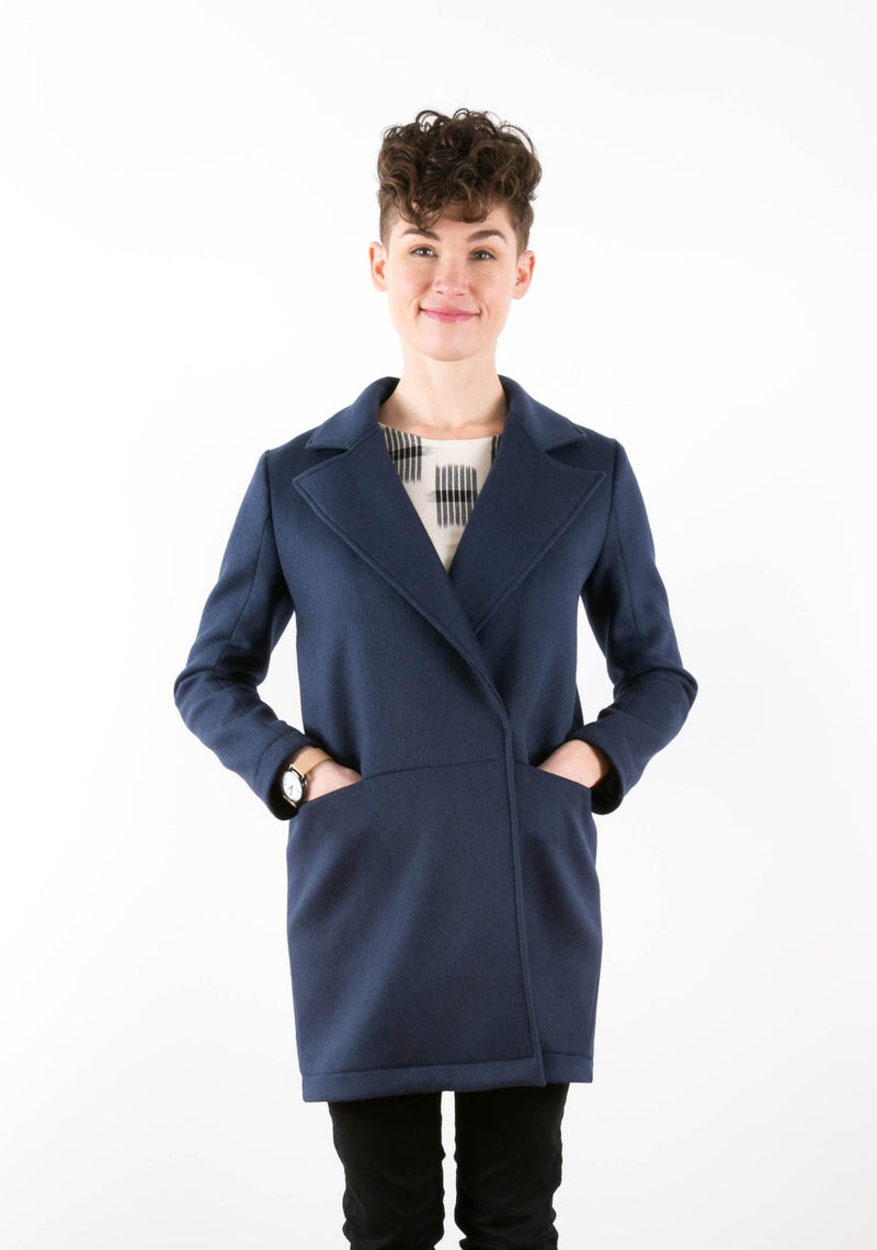 Yates Coat Sewing Pattern by Grainline Studio