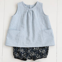 Baby + Child Smock Top Pattern by Wiksten