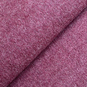 Boiled Wool - Bordeaux Melange - 0.5 metre