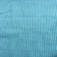 Jumbo Cotton Corduroy - Light Petrol - 0.5 metre