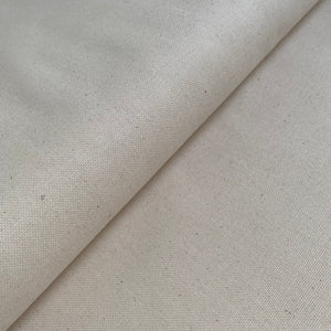 Cotton Canvas - Natural - 0.5 metre