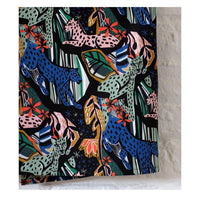 Organic Cotton Canvas by Cloud9 - Jungle Royals - 0.5 metre