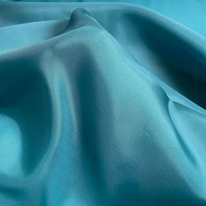 Cupro Lining Fabric - Peacock blue - 0.5 metre