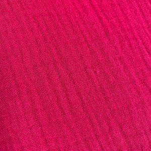 Double Gauze - Hot Pink - 0.5 metre