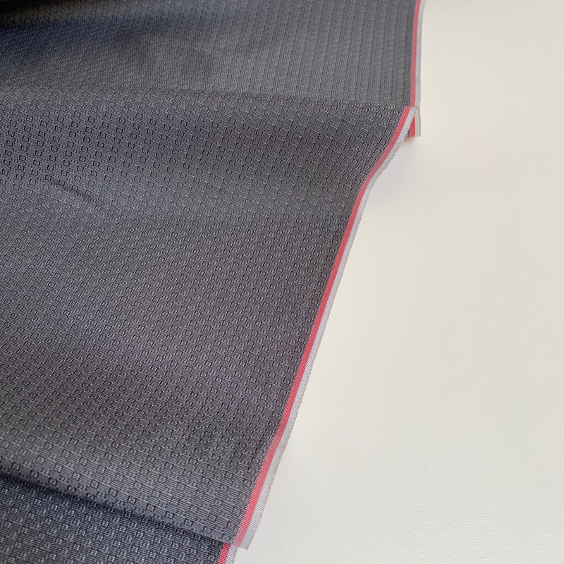 Cupro Lining Fabric - Dark Grey - 0.5 metre