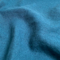 Enzyme Washed Linen - Teal - 0.5 metre