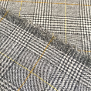Washwool Glencheck Honey - 0.5 metre