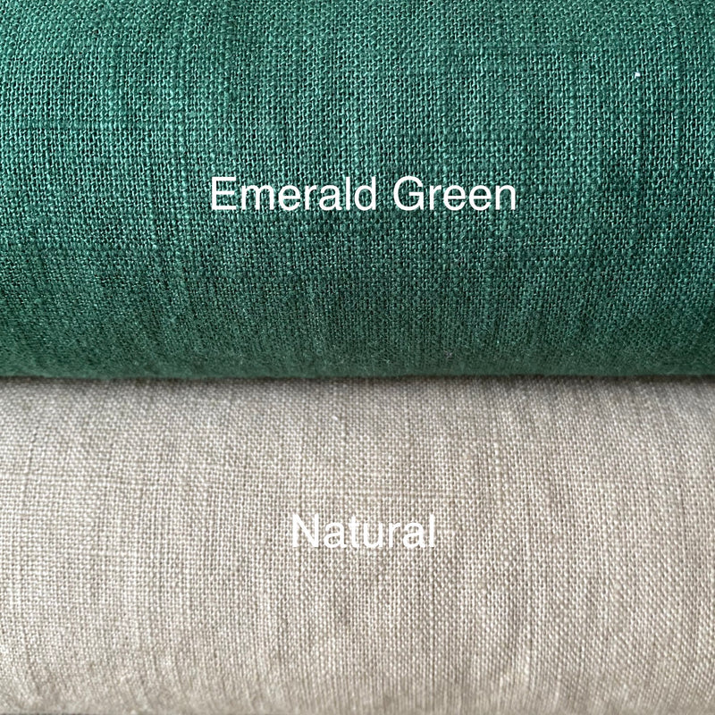 Enzyme Washed Linen - Natural - 0.5 metre