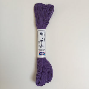 Olympus Japanese Sashiko Thread - 20m - Purple (#19)